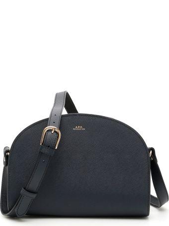 A.P.C. Demi Lune Crossbody Bag