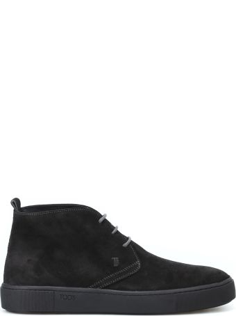 Tod's 56a Suede Desert Boots