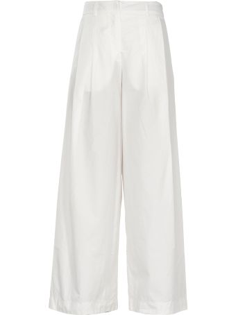 Andrea Ya'aqov Cotton Palazzo Trousers