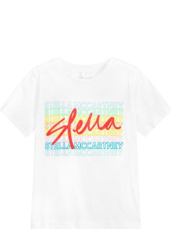 Stella McCartney Kids White Girl Top