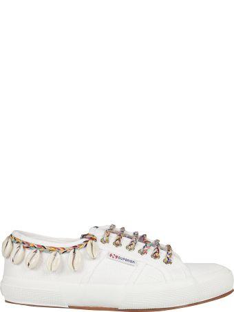 Alanui Cow-rie Shell Sneakers