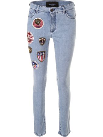 Mr & Mrs Italy Skinny Jeans With Patches