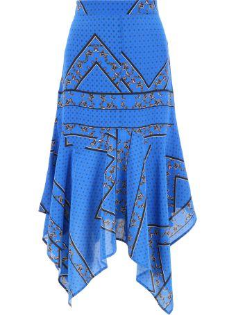 Ganni Bandana Print Skirt