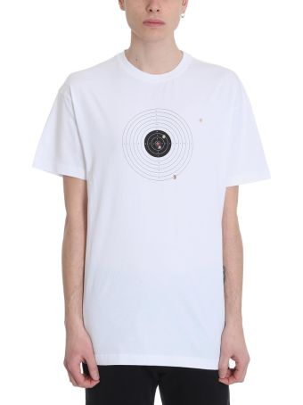 VETEMENTS White Cotton Target T-shirt