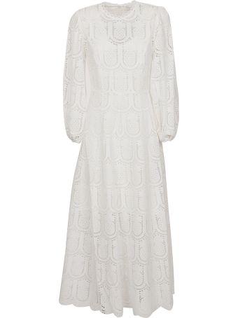 Zimmermann Wayfarer Embroidered Dress