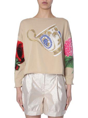 Boutique Moschino Crewneck Sweater