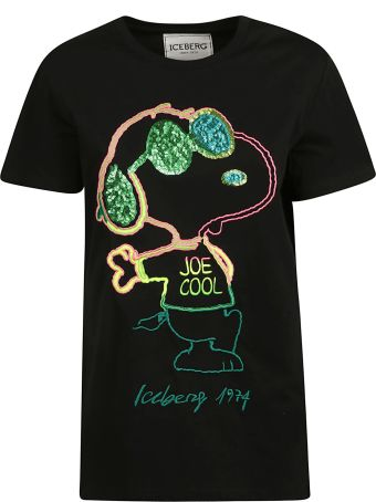 Iceberg Embroidery Snoopy T-shirt