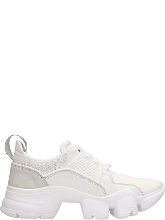 Givenchy White Fabric Jaw Low Sneakers