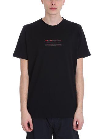 Maharishi Black Cotton T-shirt