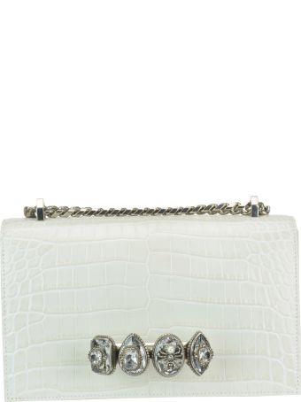 Alexander McQueen Jewelled Satchel Spider Bag