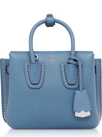 MCM Milla Studded Mini Tote Bag