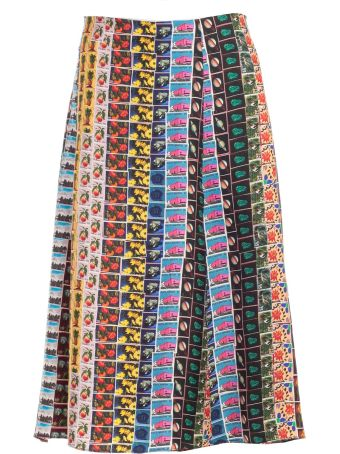 Paul Smith Printed Skirt