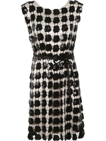 Emporio Armani Embroidered Dress