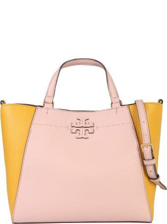 Tory Burch Mcgraw Colour-block Carryall Bag