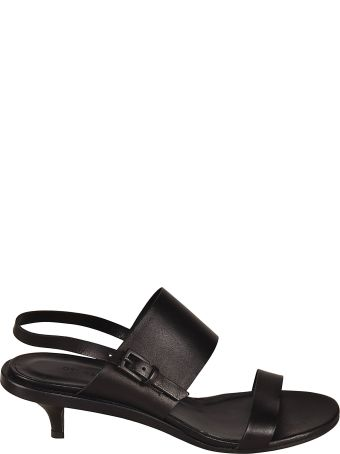 Roberto del Carlo Low Heel Ankle Strapped Sandals