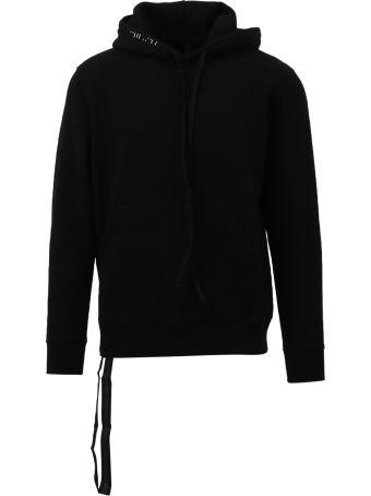 Ben Taverniti Unravel Project Black Zipped Hoodie