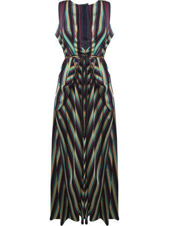 3.1 Phillip Lim Striped Satin Maxi Dress