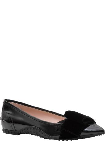 Tod's Ballerinas In Patent-leather Alessandro Dell'acqua Collection X Tod's