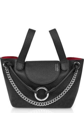 Meli Melo Black Linked Thela Mini Bag