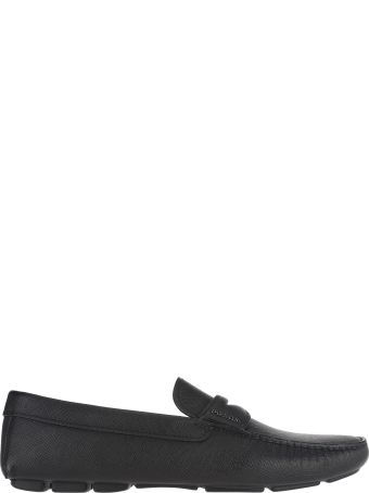 Prada Driver Leather Loafers