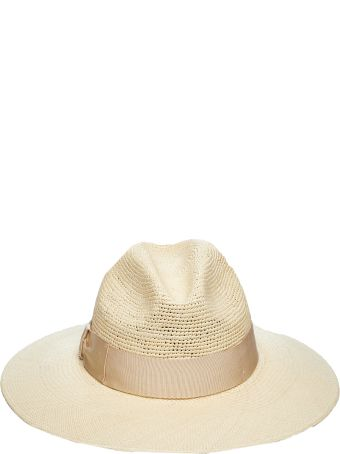 Borsalino Quilted Straw Hat
