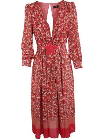 Elisabetta Franchi Celyn B. Elisabetta Franchi For Celyn B. Printed Flared Dress