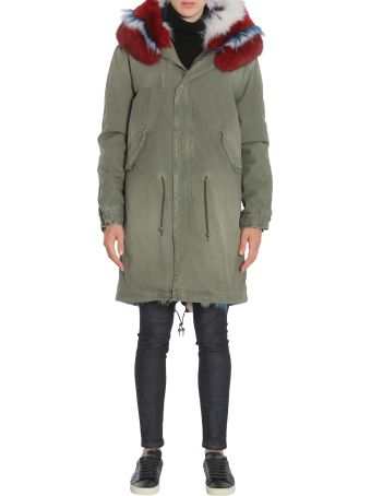 Mr & Mrs Italy Cotton Army Parka