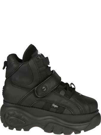 4777db6a07d Buffalo Buffalo 1348 Hi-top Platform Sneakers - Black - 10698603 ...