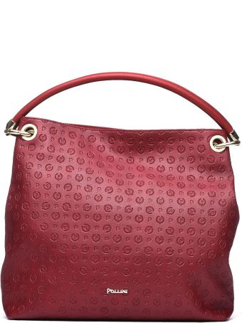 Pollini Burgundy Shoulder Bag