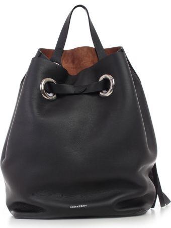 Burberry Grommet Detail Backpack