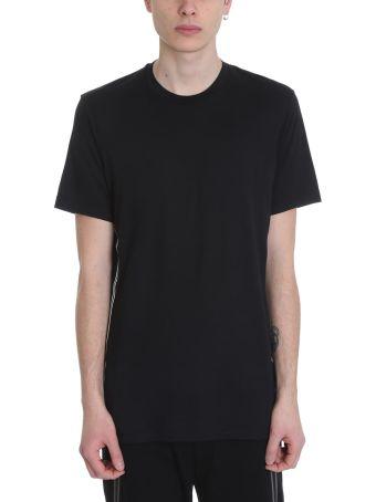 BLACKBARRETT by Neil Barrett Black Cotton T-shirt