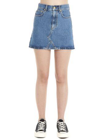 Chiara Ferragni 'eyes' Skirt