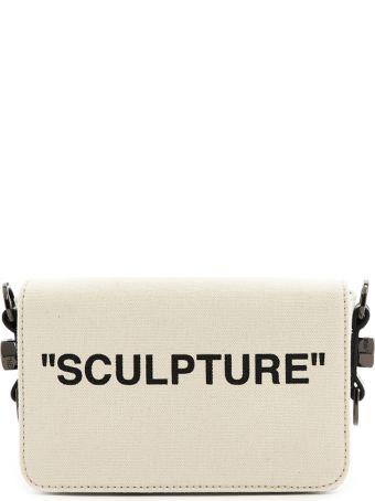 Off-White 'sculpture Canvas Flap Bag' Bag