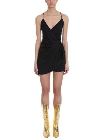 ATTICO Zebra Jacquard Mini Dress