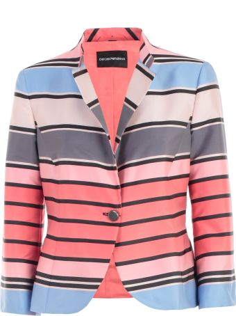 Emporio Armani Striped Formal Jacket