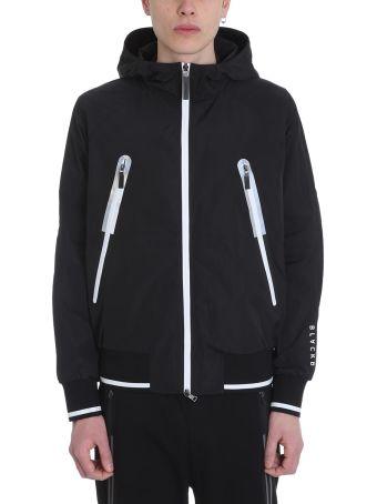 BLACKBARRETT by Neil Barrett K-way Black Polyester Jacket