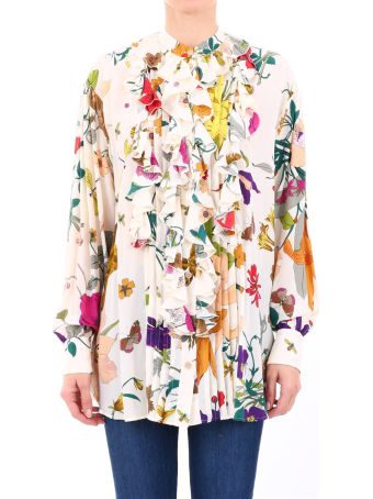 Gucci Shirt Floral Print