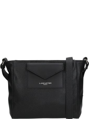 Lancaster Paris Crossbody Maya Black Leather Bag
