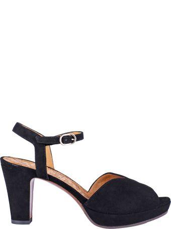 Chie Mihara Chunky Heel Sandals