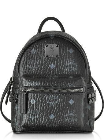 MCM Stark Bebe Boo Black Xmn Backpack