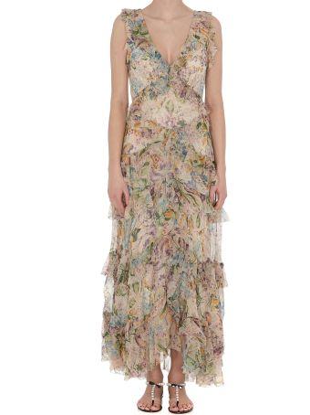 Zimmermann 96 Flutter Long Dress