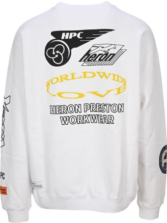 HERON PRESTON Collage Sweatshirt