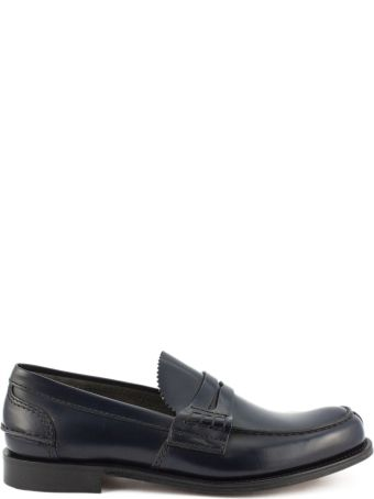Church's Tunbridge Bookbinder Fumè Loafer Navy