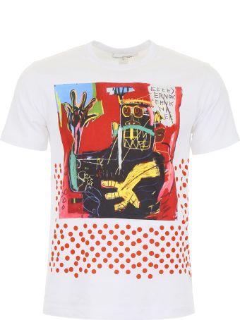 Comme des Garçons Shirt Unisex Basquiat T-shirt