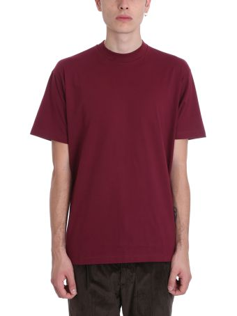 Low Brand Bordeaux Cotton T-shirt