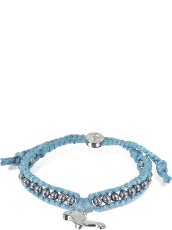 Sho London Manatee Friendship Silk Bracelet