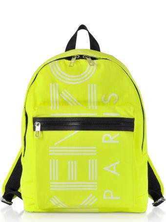Kenzo Citron Nylon Large Kenzo Sport Backpack