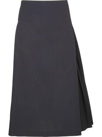 Fabiana Filippi Pleated A-line Skirt