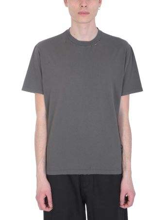 Our Legacy Grey Cotton T-shirt