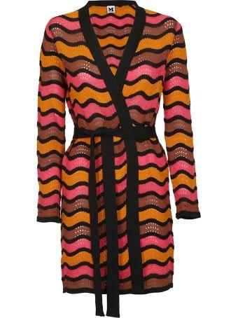M Missoni Striped Cardi-coat